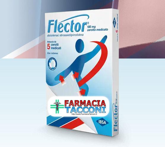 Offerta a tempo: FLECTOR® cerotti per il mal di schiena..